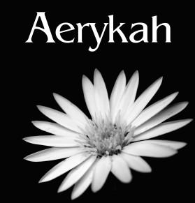 B&W Flower - Aerykah